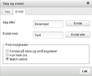 soeg-og-erstat-funktion
