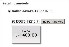 Gavekort_SaldoFrontend
