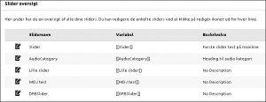 Slider_oversigt