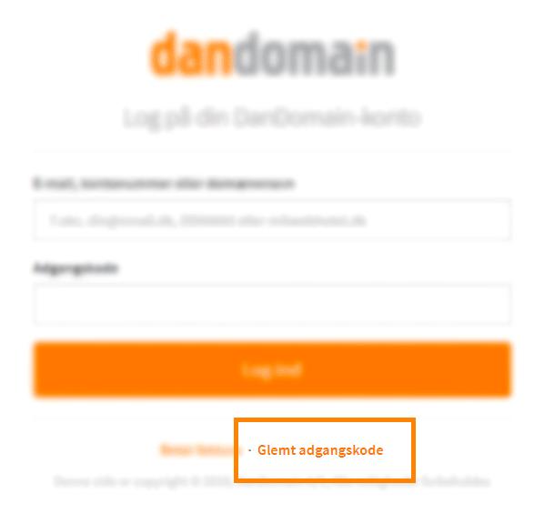 Ændring af kode til kundecenter – DanDomain Support