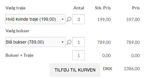 Produktkonfigurator-stykpris-totalpris